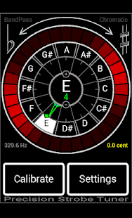 Precision Strobe Tuner- screenshot thumbnail