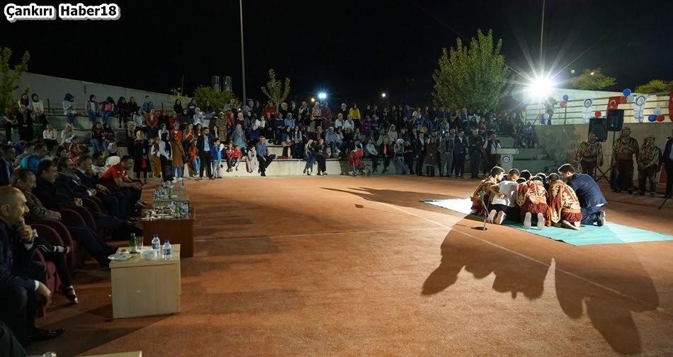 Çankırı Karatekin Üniversitesi Türk Dünyası Araştırmaları Topluluğu ,Çankırı Geleneksel Türk Ramazan Eğlencesi,Rektör Hasan Ayrancı,