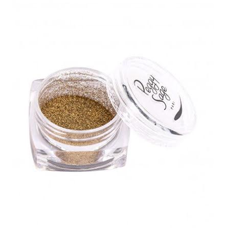 Nagel glitter metallic bronze
