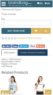 BrandBag online shopping- screenshot thumbnail