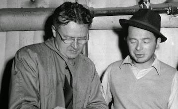 Photo: Charles Brackett e Billy WIlder, grande parceria como roteiristas.  http://filmesclassicos.podbean.com