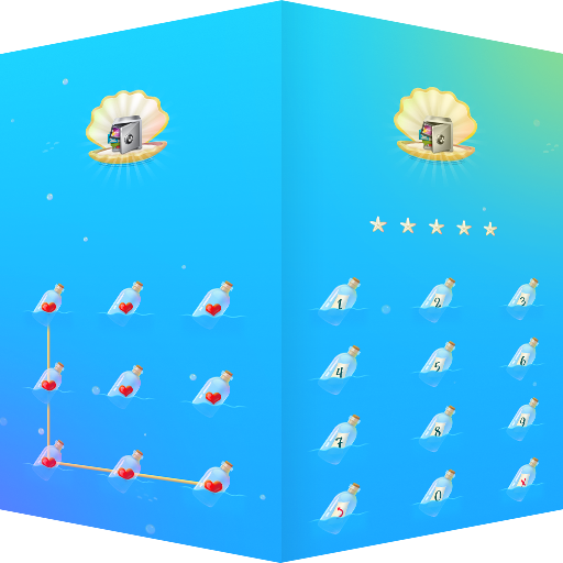 AppLock Theme Ocean