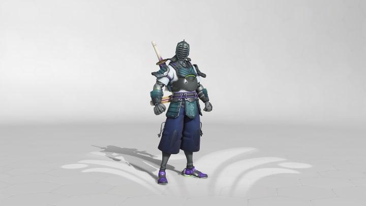 Kendoka Overwatch Genji Skin