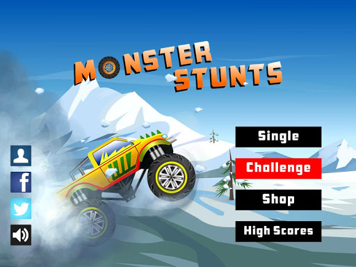 Monster Stunts -- monster truck stunt racing game screenshots 6
