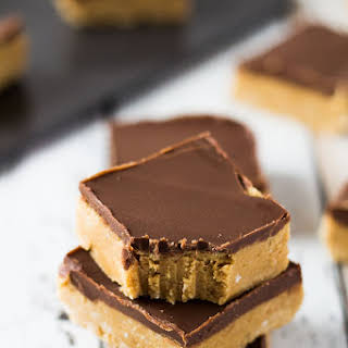 No-Bake Chocolate Peanut Butter Bars.