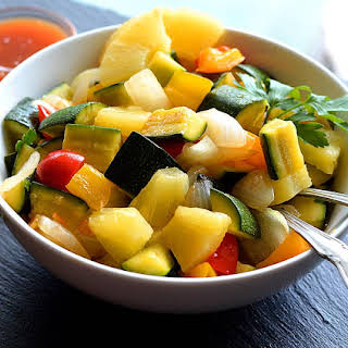Sweet and Sour Zucchini.