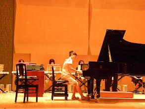 Photo: 本番を前にした入念なリハーサル キーボードオーケストラ楽ひこね2010彦根市のピアノ教室栗田音楽教室http://www.pianoya.net/pianoya_029.htm