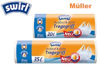 Angebot für Swirl® Reißfest & Dicht Müllbeutel im Supermarkt - Swirl