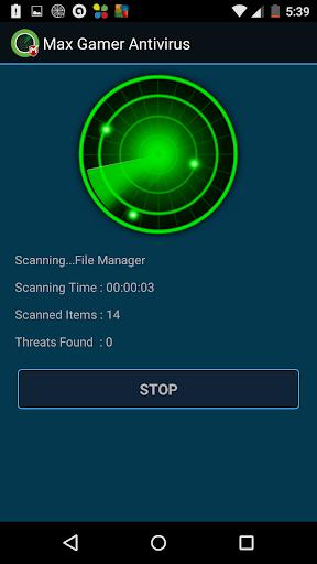 MAX GAMER ANTIVIRUS for Gamers screenshot 5