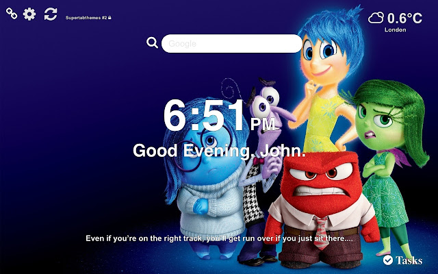 Inside Out Wallpapers HD New Tab