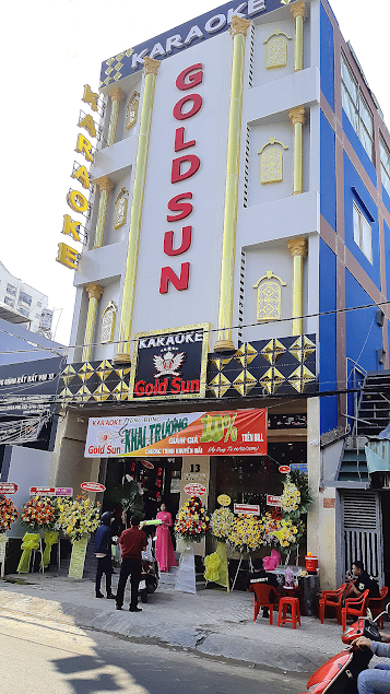 Thi công hệ thống âm thanh chuyên nghiệp tại Karaoke Gold Sun - Tân Phú