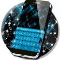 Blue Fancy Keyboard Theme icon