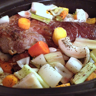 Chuck Roast with Organic Vegetables