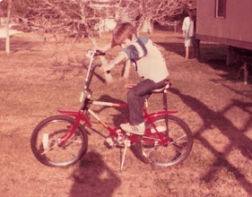 Photo: Found a picture of my first bike, circa 1982...