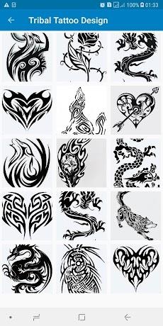 Simple Tribal Tattoo Design Ideas For Menのおすすめ画像3