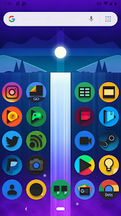 Baked - Dark Android Pie Icon Pack Screenshot