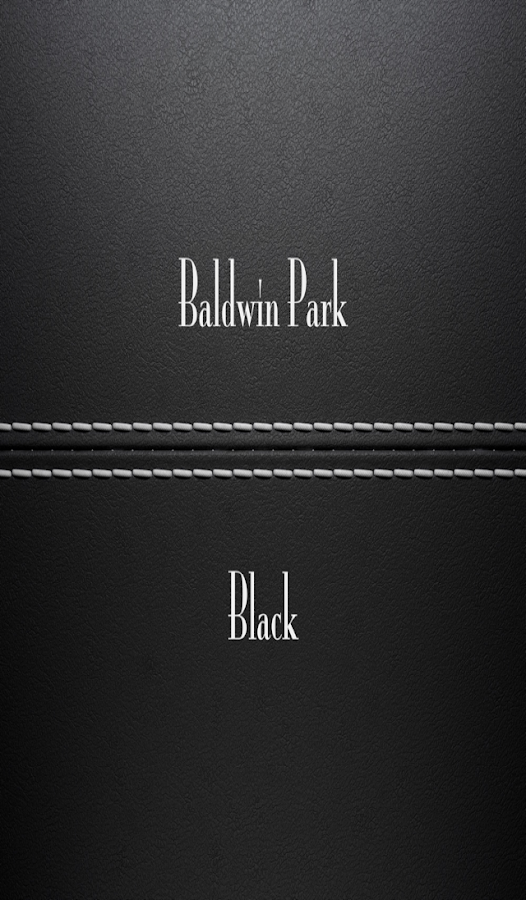 Baldwin Park Black- screenshot