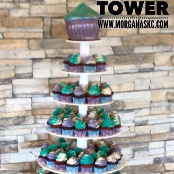 Gluten free wedding cake tower