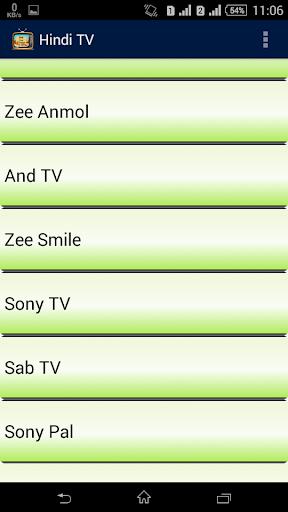 Download Hindi TV Channels Google Play softwares
