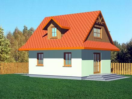 projekt Domek Matuszny