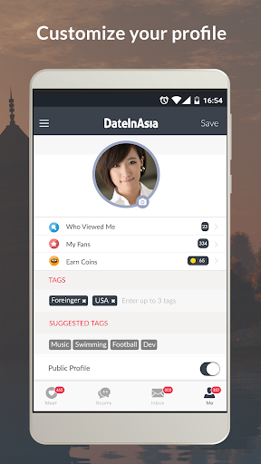 Date in Asia - Dating & Chat For Asian Singles 6.1.0 Screenshots 3