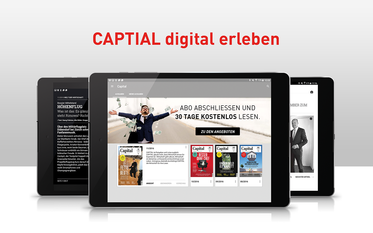 Capital Magazin- screenshot