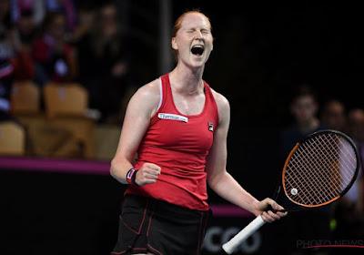 WTA Rome : Alison Van Uytvanck gagne et jouera Caroline Wozniacki au 2ème tour !