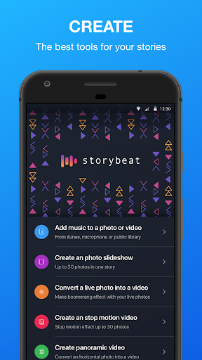 Foto do Storybeat, unleash your creativity