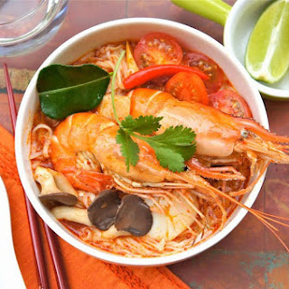 Tom Yum Soup Noodles With Coconut Milk