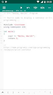 CPP N-IDE – C/C++ Compiler & Programming – Offline v1.2.4-armeabi-v7a [Premium] APK 1