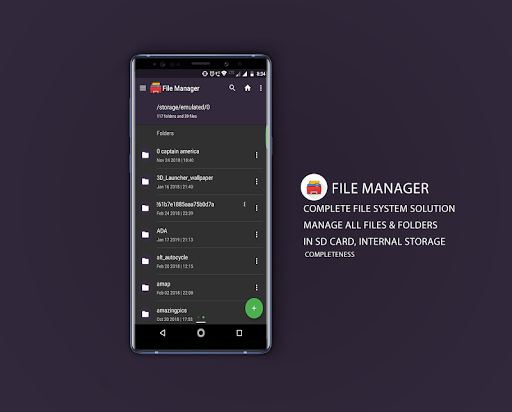 Screenshot for Elegant File Manager - Simple File Manager in United States Play Store