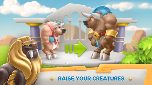 Legends Of Olympus: City Building & Farming Game. - screenshot