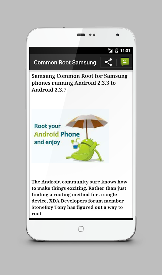 Root android : Rootland- screenshot