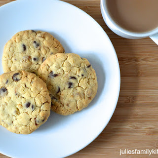 Quick and Easy Egg-Free Chocolate & Ginger Cookies by Julie's Family Kitchen.