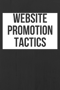 Website Promotion Tactics - náhled
