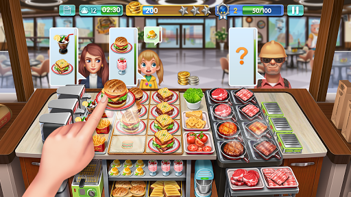Crazy Cooking - Star Chef screenshots 1