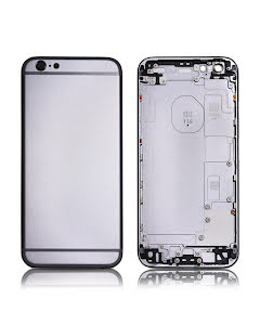 iPhone 6S Back Housing without logo High Quality Black