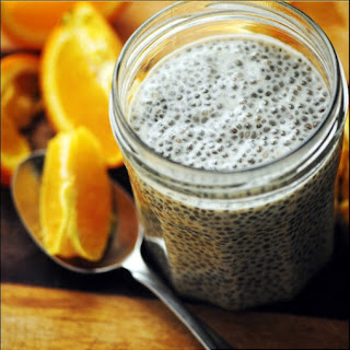 Creamy, Dreamy, Orange Delight Chia Seed Pudding (Gluten Free, Vegan)