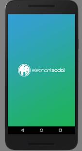 Elephant Social - náhled