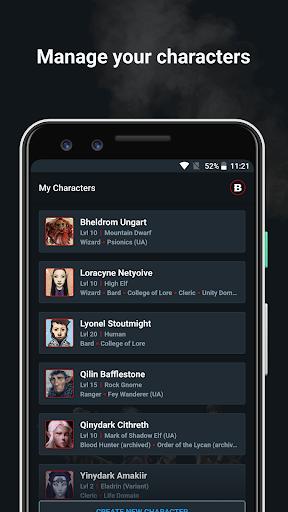D&D Beyond Player Tools screenshot 2