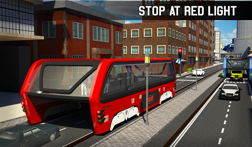 Elevated Bus Simulator: Futuristic City Bus Games 2.2 screenshots 21