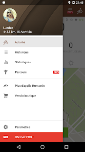 Runtastic Mountain Bike VTT Capture d'écran