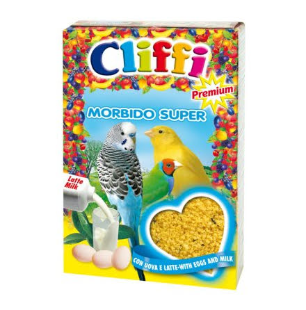 Cliffi Äggfoder Morbido Super 300g