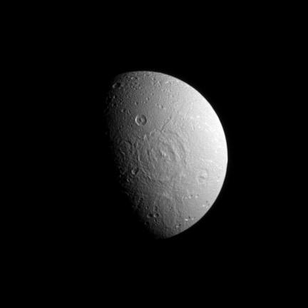 Dione Pockmarked Side