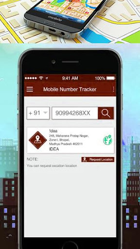 Mobile Number Location Tracking App screenshot 2