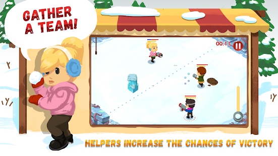 ApkMod1.Com Snowicks: Snow Battle + (Mod Money) for Android Action Game