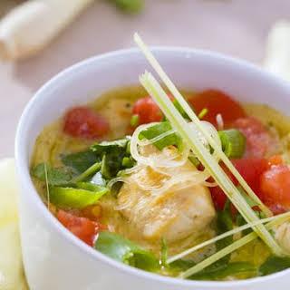 Asian-style Noodle Soup.