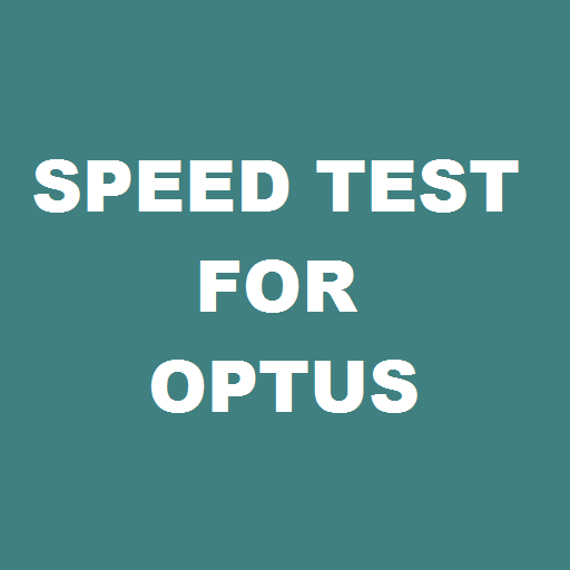 Speed Test for Optus