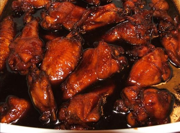 Asian Sticky Wings With A Little Kick! Recipe