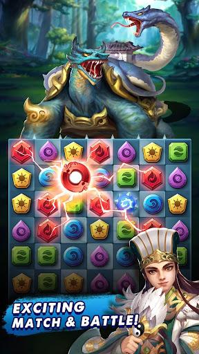 Three Kingdoms & Puzzles: Match 3 RPG 1.5.0 screenshots 1